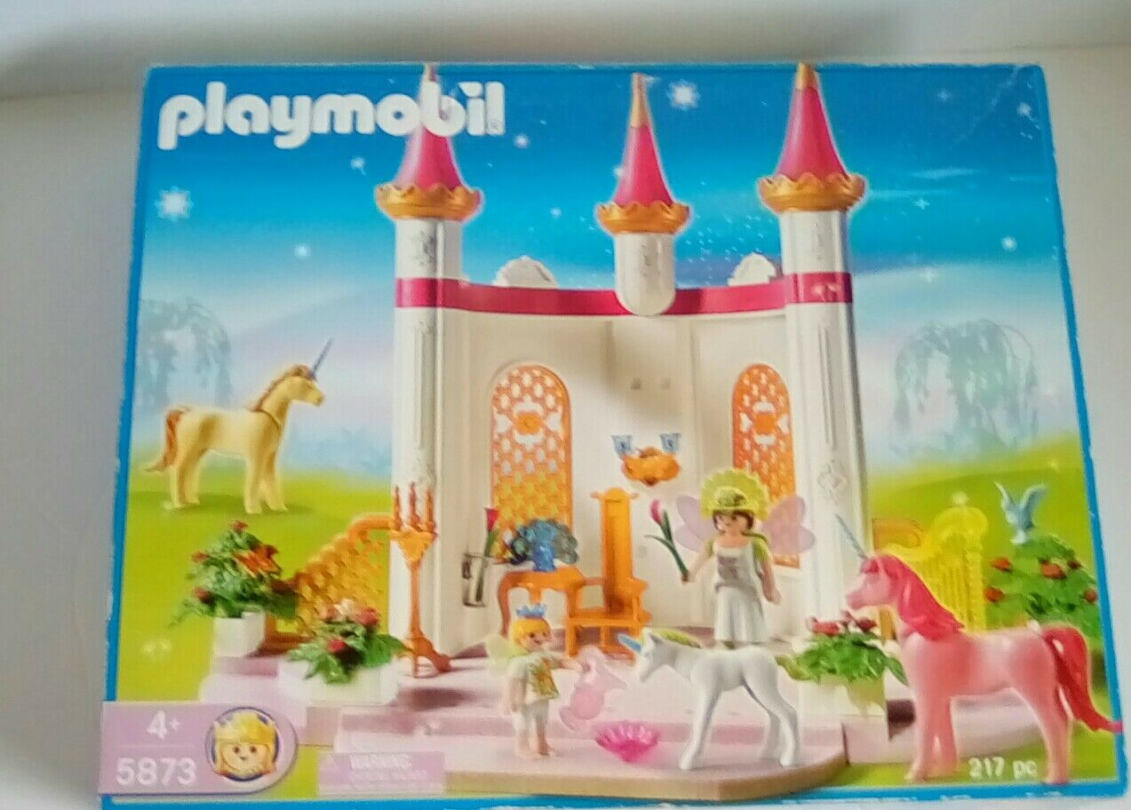Playmobil - 5873 - - - Fairy Princess unicorn  - Boxed & Instructions 17b358