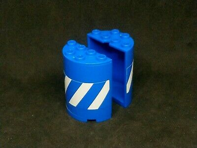LEGO Replacement Parts 6259 X2 Trans Blue Round 2x4x4 Fast FREE Delivery 6074868