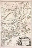 MAP ANTIQUE WAR AMERICAN INDEPENDENCE THEATRE LARGE REPLICA POSTER PRINT PAM1347