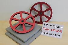Tonbandspule 22 cm für Sony, Akai, Grundig, Teac , 1 Paar , Art-Nr.LP-22-R