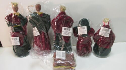 Christmas Nativity 6 Piece Set Large Display Decorations For The Holidays ch512
