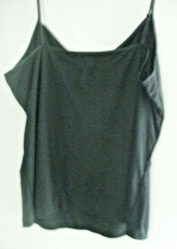 WOMENS//GIRLS BLACK V-NECK CAMISOLE TOPS 2 FOR JUST £3.99