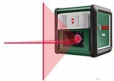 BOSCH Quigo Self-Leveling Cross Line Laser Con mm02 Mount perforazione Creativo fai da te