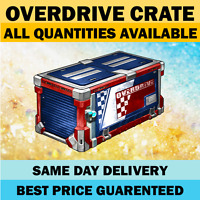 OVERDRIVE CRATE - Any Quantities - Rocket League Crates PC Steam [FAST]