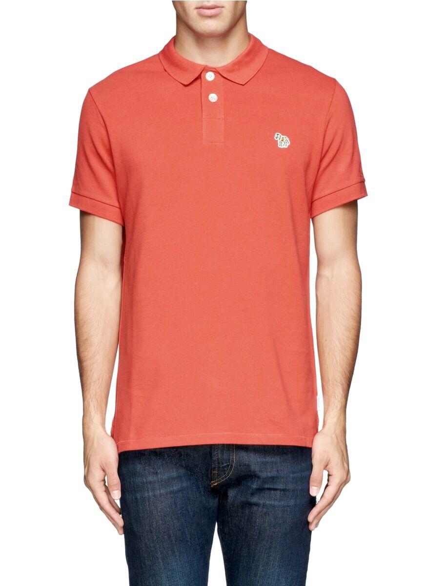 ff8a293b2 Paul Smith Jeans - Organic Polo (M) orange Cotton noxuta1857-Casual ...