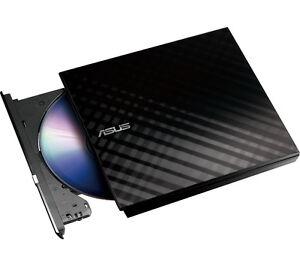 Portatil-Externo-ASUS-regrabadora-DVD-Lector-Negro-USB-DVD-R-8x-CD-R-24x