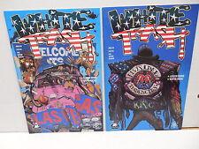 White Trash Tundra Comic Books 3 4 Gordon Rennie Martin Emond Elvis Presley App.