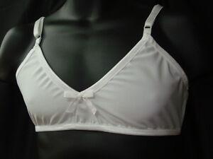 """NYLON /& LACE Adult Sissy Cross Dresser SWEET /""""Training Bra/""""  for MEN"""