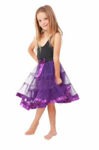 Enfants Filles Tutu Jupe Danse Tutu Fantaisie Parti Jupon Couche Robe De Ballet 8-12Yr