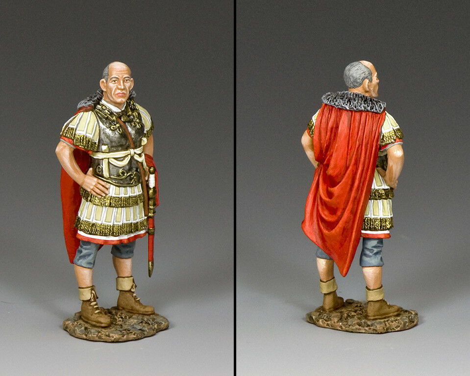 KING & COUNTRY ROMAN EMPIRE ROM032 ROMAN SENIOR OFFICER STANDING MIB