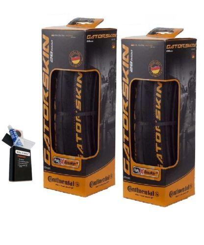 Continental GatorSkin DuraSkin Tire 2-Pack Value Pack FREE Patch Kit