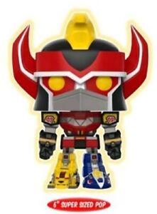 Power Rangers Megazord GITD Glow in the Dark Pop Vinyl EE Exclusive Funko