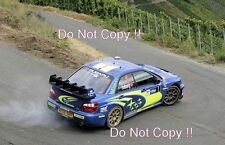 Petter Solberg Subaru Impreza WRC2004 World Rally Championship 2004 Photograph
