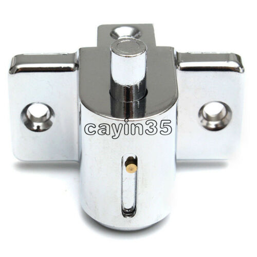DC 12V 0.6A//350mA Aluminum Catch Push Lock S1203 Electric Solenoid Lock Assembly