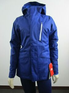 Womens-The-North-Face-TNF-Thermoball-Snow-Tri-Waterproof-Insulated-Jacket-Blue