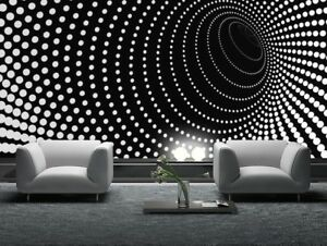 Image Is Loading Giant Wall Mural Photo Wallpaper Illusion Twisted Dots