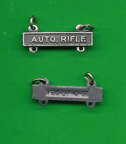 ARMY AUTO RIFLE BAR BADGE QUALIFICATION VN issue
