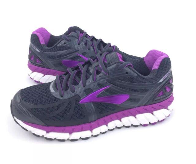 6b8fd211df659 NEW Brooks Ariel  16 Road Running Shoes Sneakers Gray Purple Women s ...