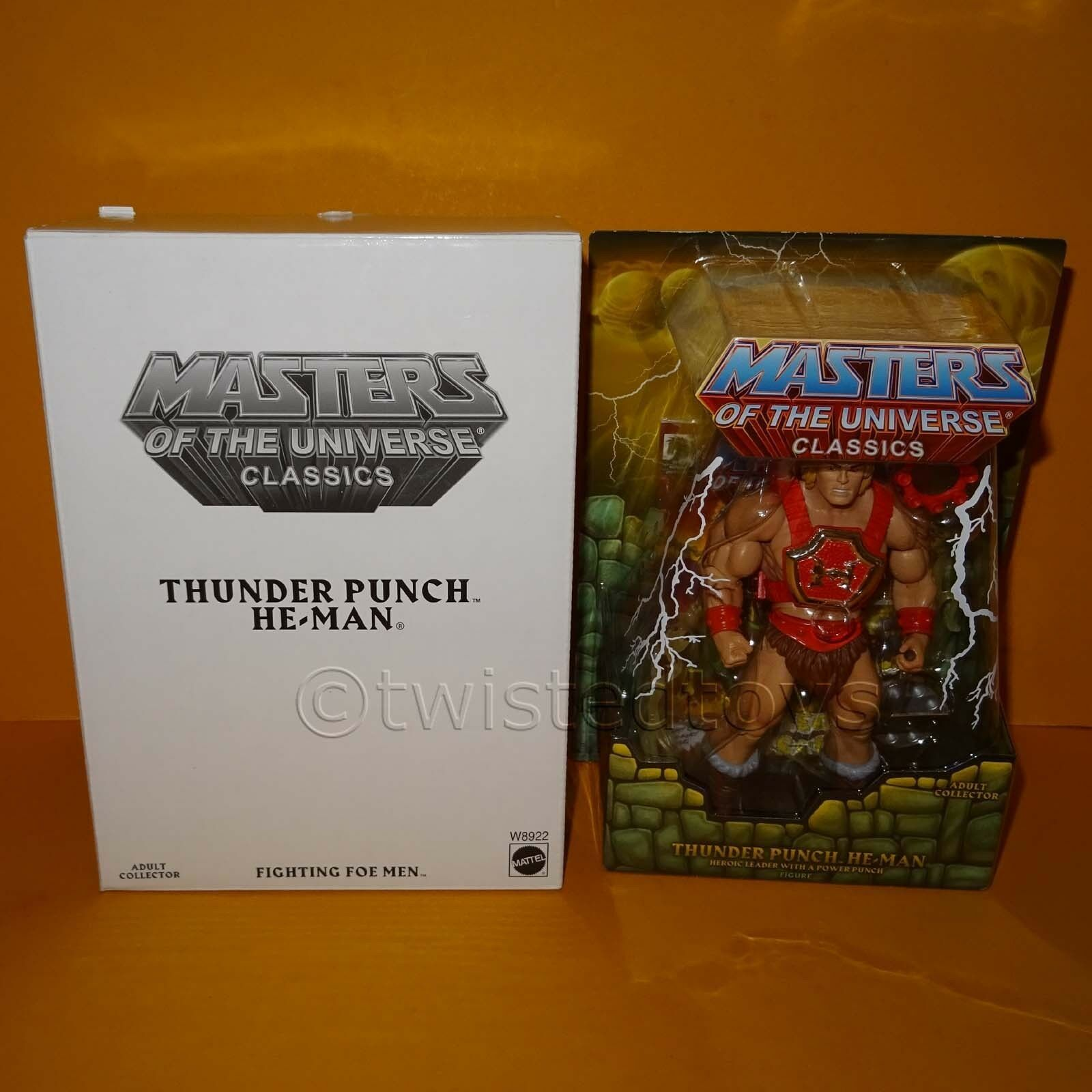 2011 MATTEL MOTU MASTERS MASTERS MASTERS OF THE UNIVERSE CLASSICS THUNDER PUNCH HE-MAN MOC 082e51