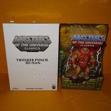2011 MATTEL MOTU MASTERS OF THE UNIVERSE CLASSICS THUNDER PUNCH HE-MAN MOC