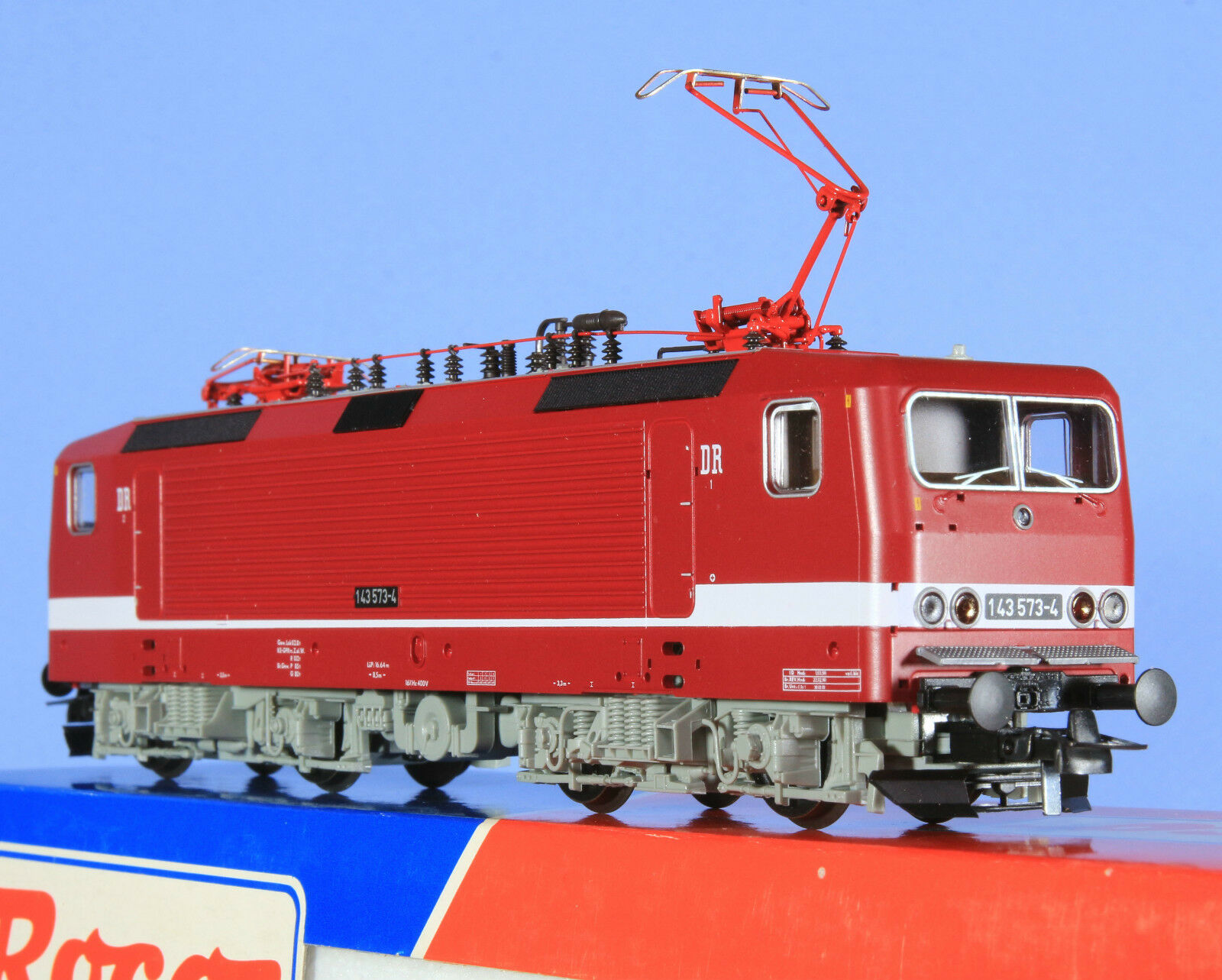Roco 46680 Locomotive {65533;65533; lektrique type 143573 -4 de la DR