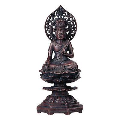 Akasagarbha (Koku-bosatsu) H14.5 : Japanese Bronze Statue w paulownia wood box