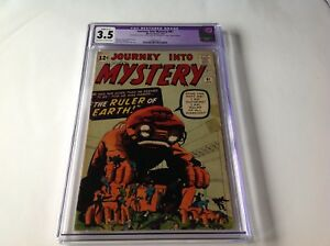 JOURNEY-INTO-MYSTERY-81-CGC-3-5-RULER-OF-EARTH-STEVE-DITKO-KIRBY-MARVEL-COMICS