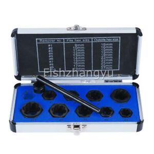 Damaged-Bolt-Nut-Screw-Remover-Extractor-Set-Socket-Threading-Removal-Tools-AU