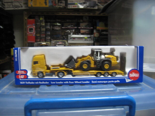 MAN Liebherr loader 580 tractor set model HO 1 87 siku 1839 free shipping