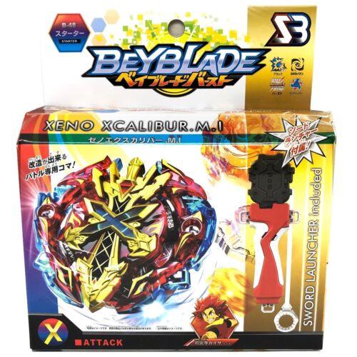 Xeno Xcalibur Kreisel für Beyblade Burst Arena Beyblades Grip Launcher FRANCE