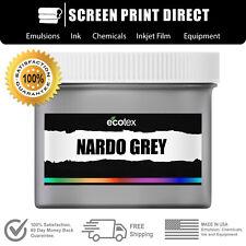 Ecotex Nardo Grey Premium Plastisol Ink For Screen Printing Qt 32oz