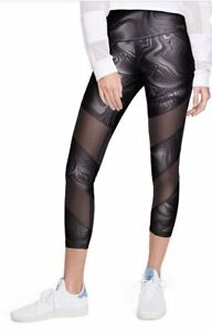 00e48c43a7c12 Victoria's Secret PINK Ultimate High Waist Shine Mesh Ankle Legging ...