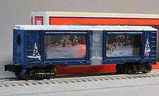 LIONEL WINTER WONDERLAND CHRISTMAS AQUARIUM CAR o gauge train operating 6-82740