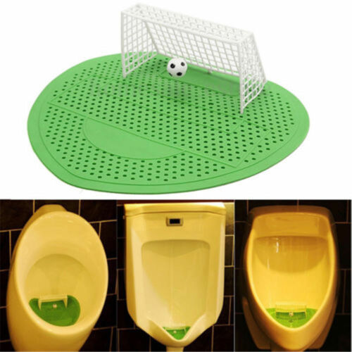 Football Soccer Shoot Goal Style Urinal Screen Filter Mat For Hotel Home Club A
