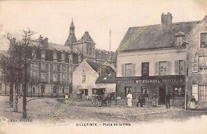 CPA-93420-Villepinte-Place-Of-La-Feast-Edit-Bourdel