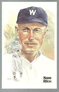 93-SAM-RICE-Perez-Steele-Hall-of-Fame-Postcard