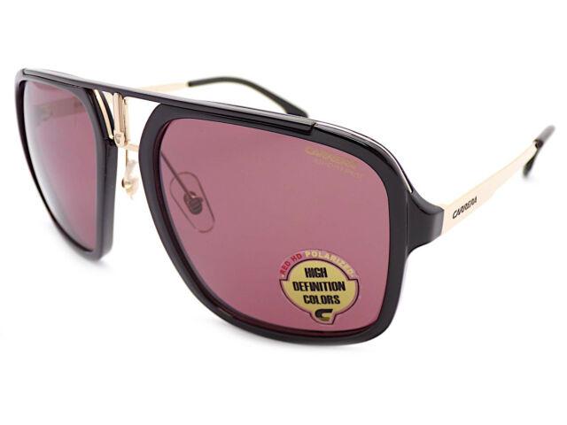 d402e92a3c Carrera 1004/S Gafas de Sol Polarizadas Negro Brillante Dorado/Sedona 2m2