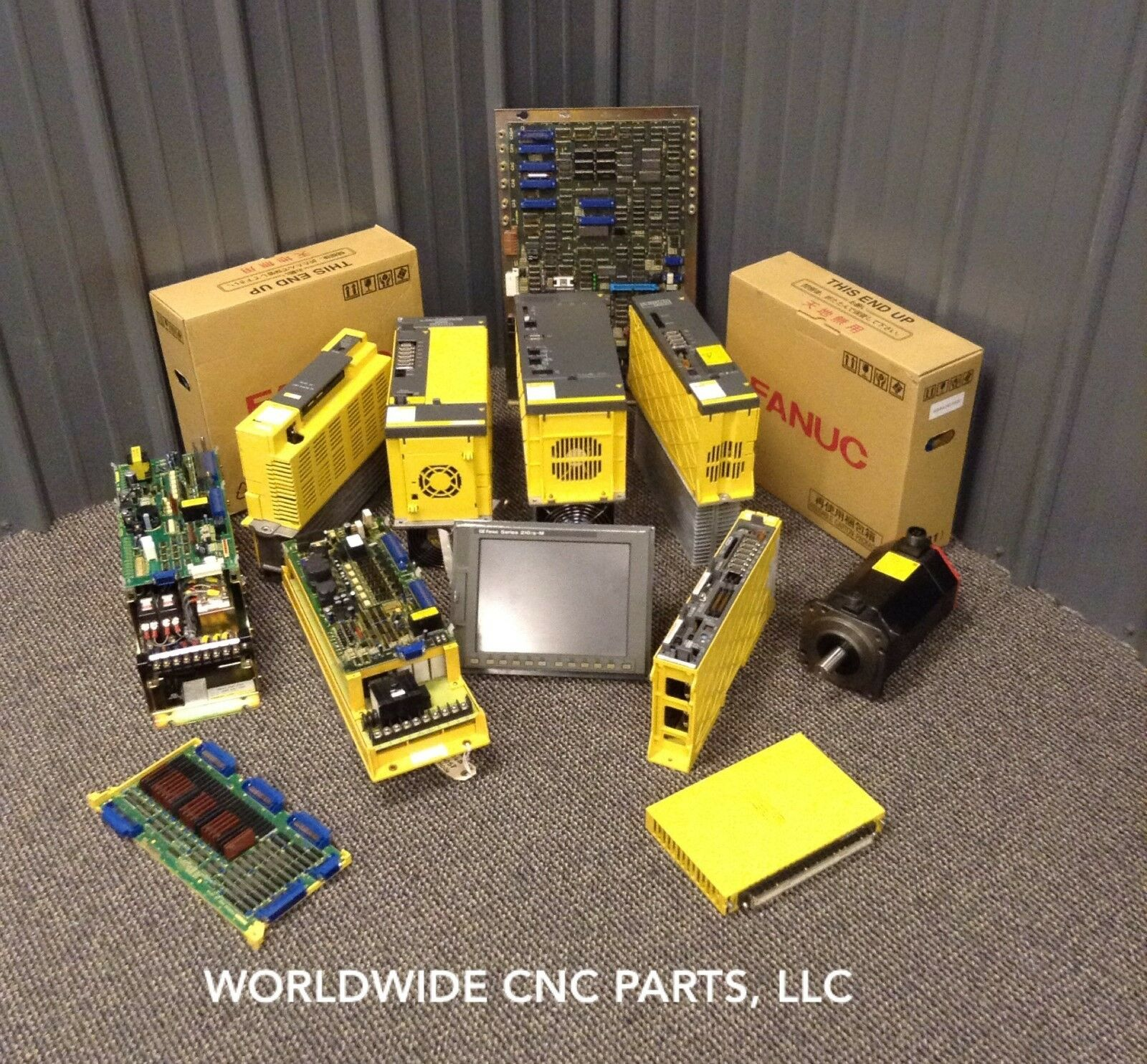 RECONDITIONED FANUC POWER SUPPLY ( A16B-1211-0890 )
