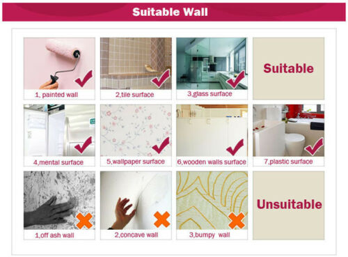 Wall Sticker Removable PVC Forest Bear Wall Decals Art Stickers Living Room