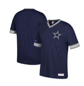 41b3c3cb2 NFL Dallas Cowboys Men s Mitchell   Ness Overtime Win Vintage V-neck ...