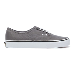 c700f464ae Image is loading VANS-Authentic-Pewter-Mens-Canvas-Low-Top-Sneakers-