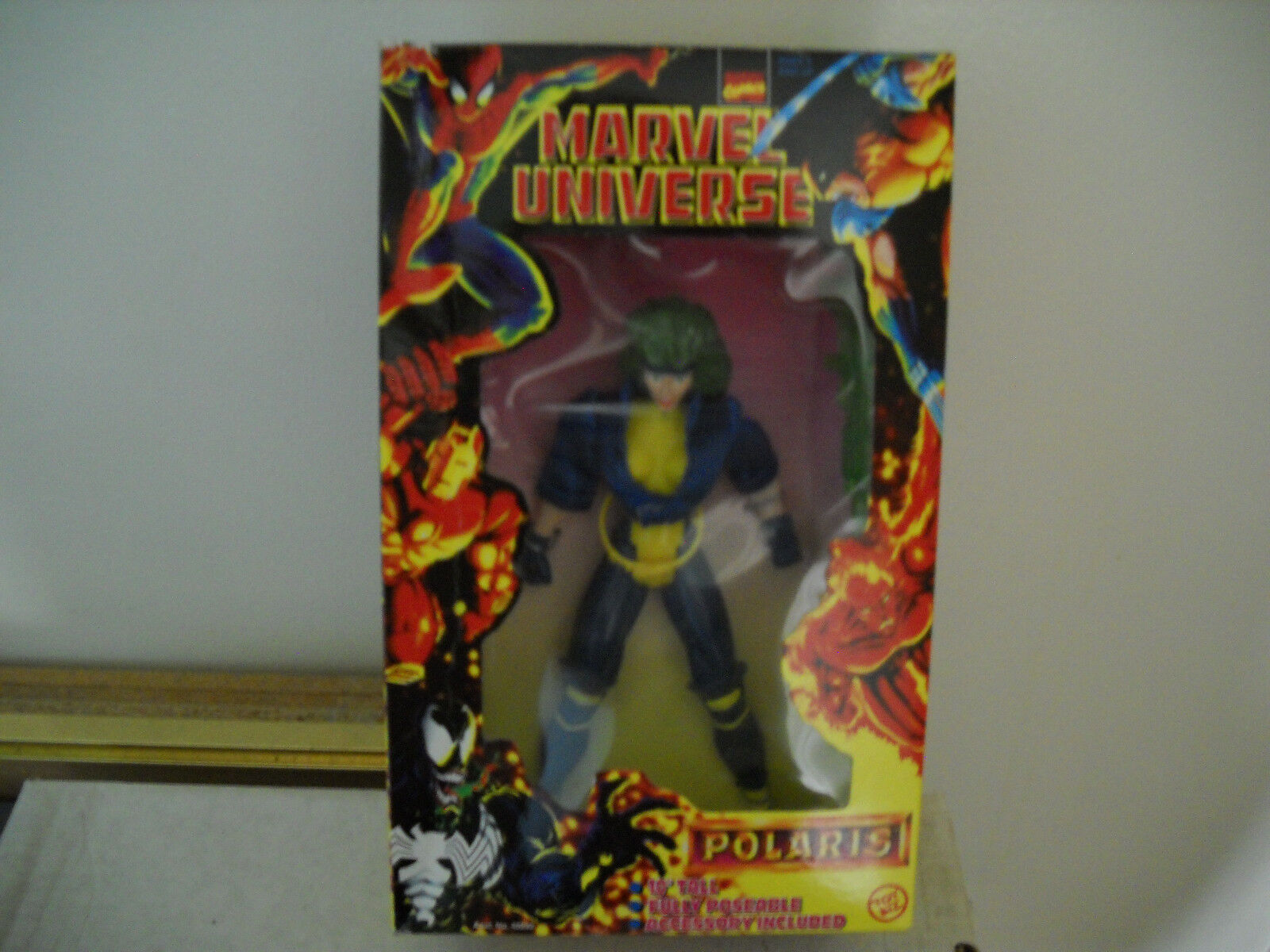 Marvel Universe 10-inch Figures-Polaris vf nm in box