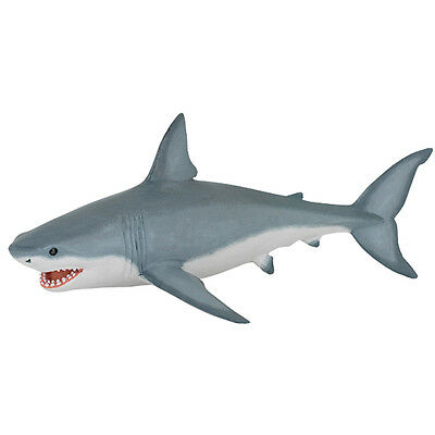 Great White Shark Model Toy Bath Toy Perfect Match For Jurassic World Mosasaurus