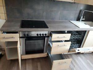 Kuchenzeile Gebraucht Helles Holz Siemens Spuhlmaschine Ebay