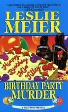 Birthday Party Murder (Lucy Stone Mysteries, No. 9) by Meier, Leslie