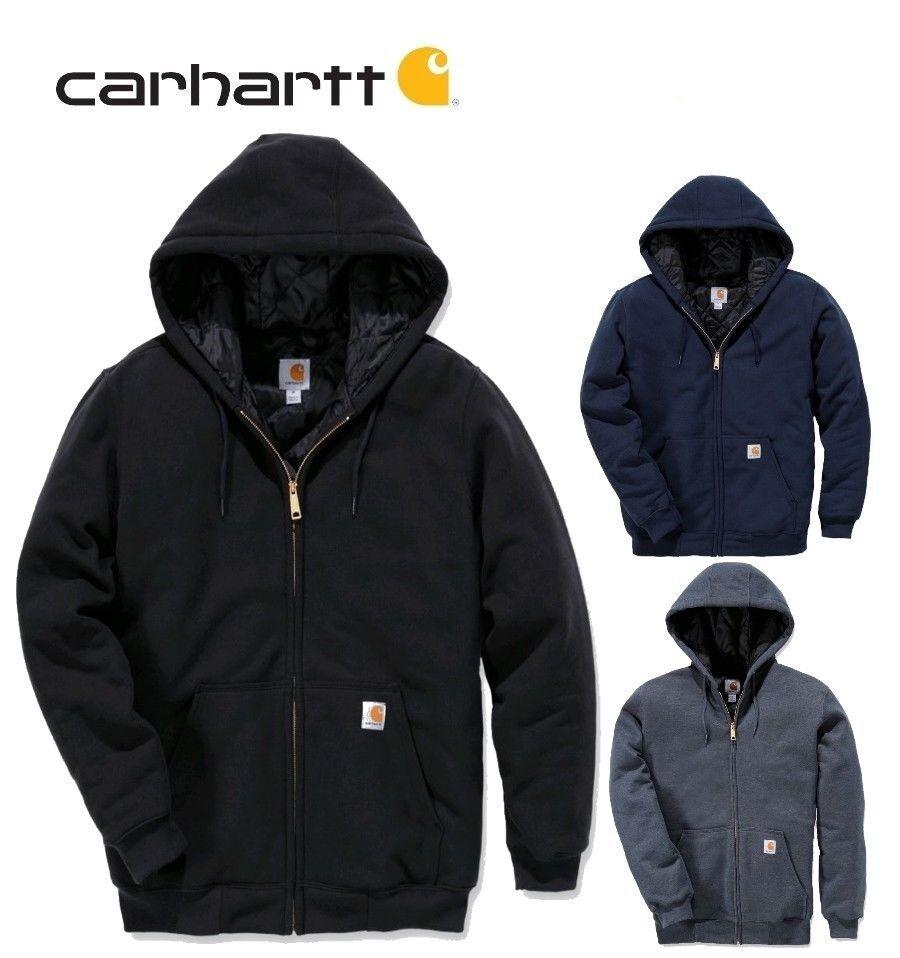 Carhartt ZIP Sweatshirt  Hoodie  Weste, 3 Jahreszeiten wasserabw. FREI HAUS    | Lebendige Form