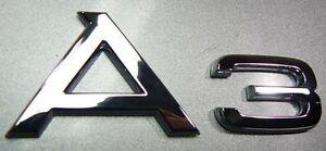 original audi a3 schriftzug logo audi a3 8p 8p0853741 2zz. Black Bedroom Furniture Sets. Home Design Ideas