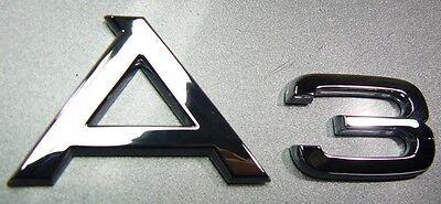 Original Audi A3 Schriftzug Emblem Audi A3 8P 8P0853741 ...