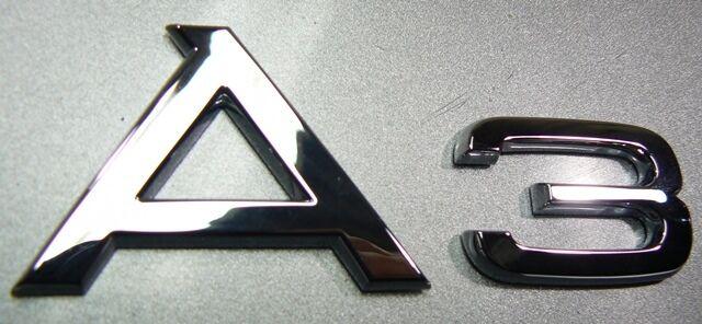 Originale Audi A3 Lettering Stemma Audi A3 8P 8P0853741 2ZZ Materiale Nuovo