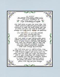 SCOTTISH WEDDING BLESSING